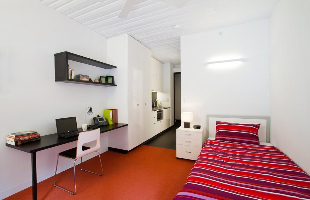 Monash Residential Services - Studio Apartment