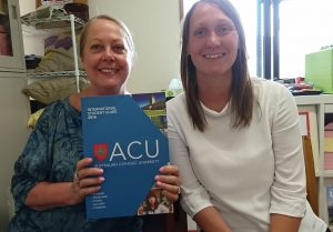 Visitor from ACU on 22nd May